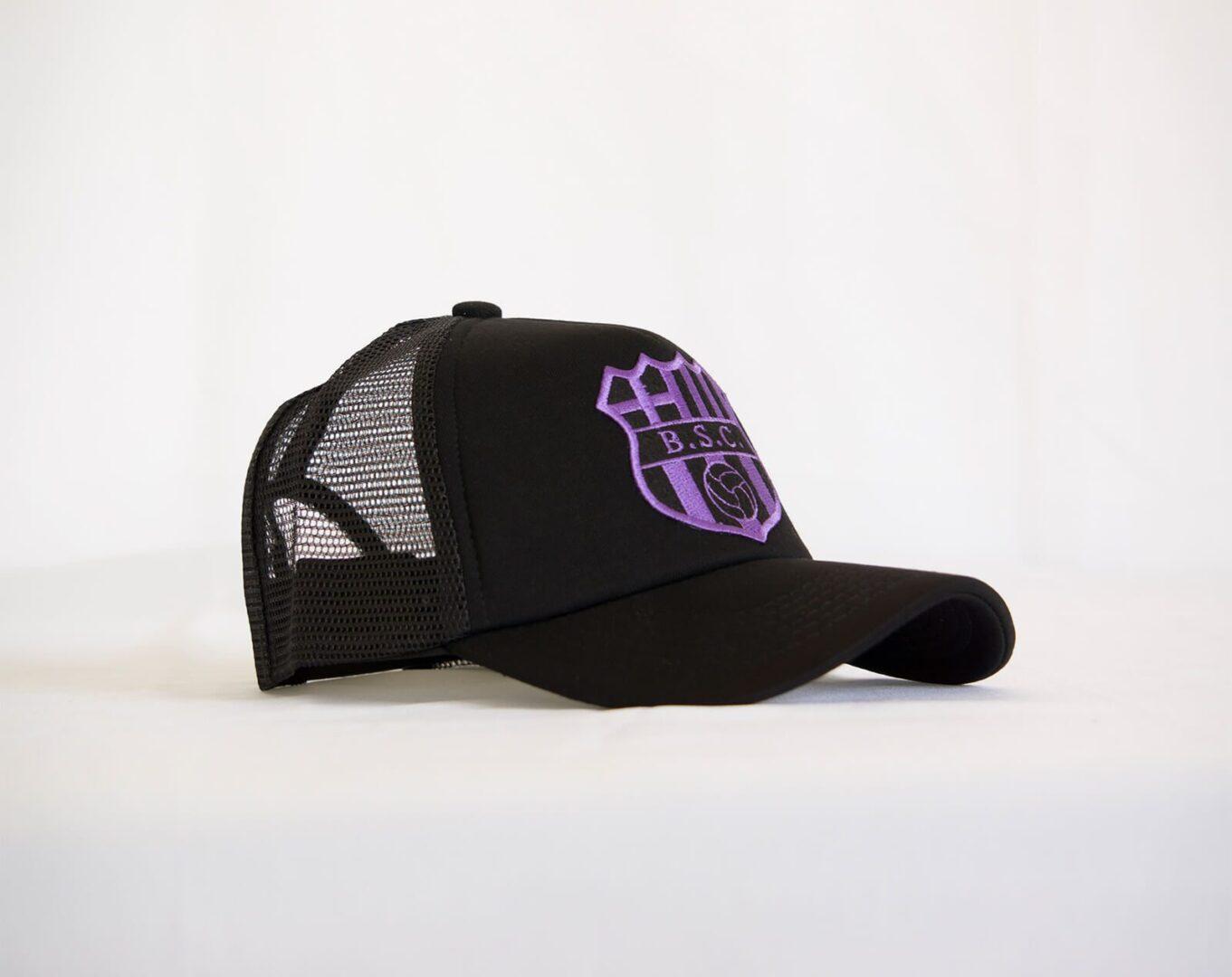 BSC Trucker purple.  30. Gorra Camionera Oficial Barcelona S.C. 778b6ce9d3d