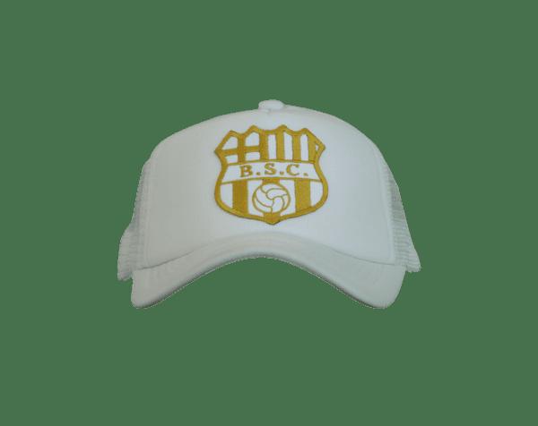 BSC Trucker Gold.  30  19. Gorra Oficial Barcelona S.C. 1a5324bb587